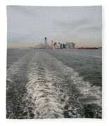 Lower New York Fleece Blanket