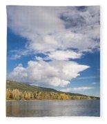 Lower St. Mary Lake 2 Fleece Blanket