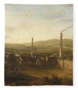 Lowerhouse Print Works, Burnley Fleece Blanket