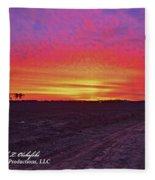 Loxley Al Sunset Dec 2013 I Fleece Blanket