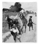Loyalists To Canada Fleece Blanket