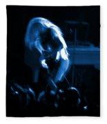 Ls Spo #79 Crop 2 In Blue Fleece Blanket