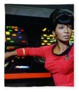 Lt Uhura Fleece Blanket