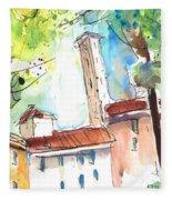Lucca In Italy 06 Fleece Blanket