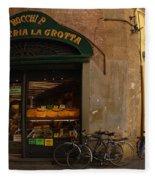 Lucca Italy Fleece Blanket