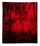 Lucifer's Gate Fleece Blanket
