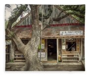 Luckenbach 2 Fleece Blanket