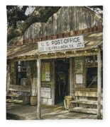 Luckenbach Fleece Blanket