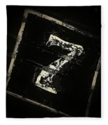 Lucky Number Seven Fleece Blanket