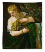 Lucretia Fleece Blanket