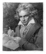 Ludwig Van Beethoven Fleece Blanket