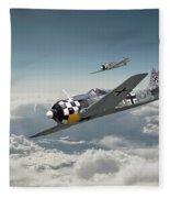Luftwaffe - Fw190 Fleece Blanket