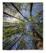 Lumberjack Heaven Fleece Blanket