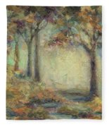 Luminous Landscape Fleece Blanket