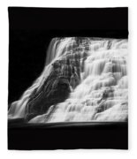 Luminous Waters V Fleece Blanket