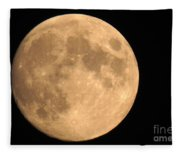 Lunar Mood Fleece Blanket