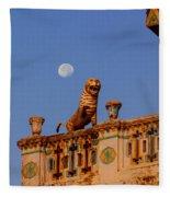 Lunar Powered Fleece Blanket
