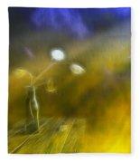 Lunaria Annua  Fleece Blanket