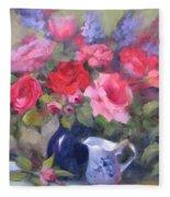 Luscious Roses Fleece Blanket