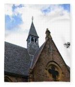 Luss Church Steeple Fleece Blanket