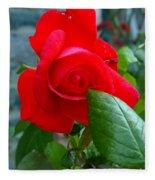 Luss Rose Fleece Blanket