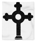 Lutheran Cross Fleece Blanket