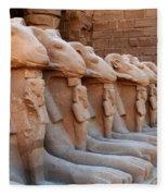 Luxor Temple 3 Fleece Blanket