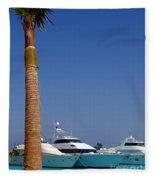 Luxury Yachts 03 Fleece Blanket