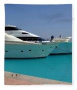 Luxury Yachts 04 Fleece Blanket