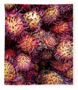 Lychee Fruit - Mercade Municipal Fleece Blanket
