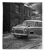 Lye Rain Storm, Ford Prefect Van - 1960's    Ref-244 Fleece Blanket