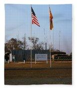 Lz Oasis 3d Brigade None Better Headquarters 4th Infantry Division Vietnam  1969 Fleece Blanket
