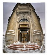 M And T Bank Downtown Buffalo Ny 2014 V2 Fleece Blanket