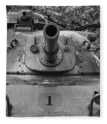 M60 Patton Tank Turret Fleece Blanket