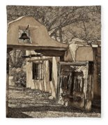 Mabel's Gate - A Different View Fleece Blanket