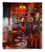 Macabre - In The Headhunters Study Fleece Blanket