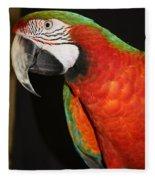 Macaw Profile Fleece Blanket