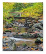 Macedonia Brook Square Fleece Blanket