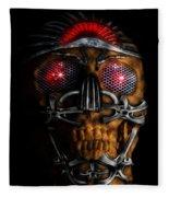 Machine Head Fleece Blanket