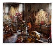 Machinist - A Room Full Of Memories  Fleece Blanket