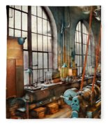 Machinist - Back In The Days Of Yesterday Fleece Blanket
