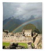 Machu Picchu Fleece Blanket