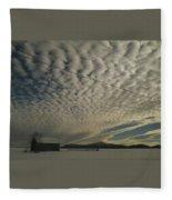 Mackerel Sky Fleece Blanket