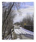 Macomb Orchard Trail Fleece Blanket