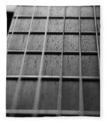 Macro Guitar Strings Fleece Blanket