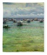 Mactan Island Bay Fleece Blanket