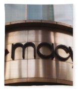 Macys Signage Fleece Blanket