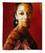 Madame Exotic Fleece Blanket
