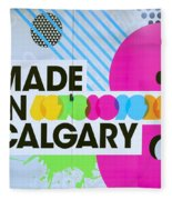 Made In Calgary Fleece Blanket