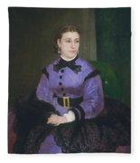 Mademoiselle Sicot Fleece Blanket